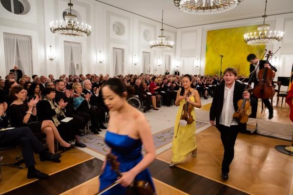 DSM, Schloss Bellevue, Berlin, Empfang 50. Jahrestag